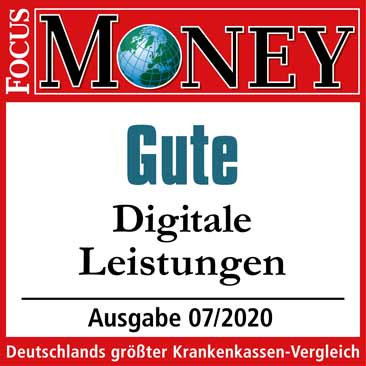 Focus Money Siegel Digitale Leistungen